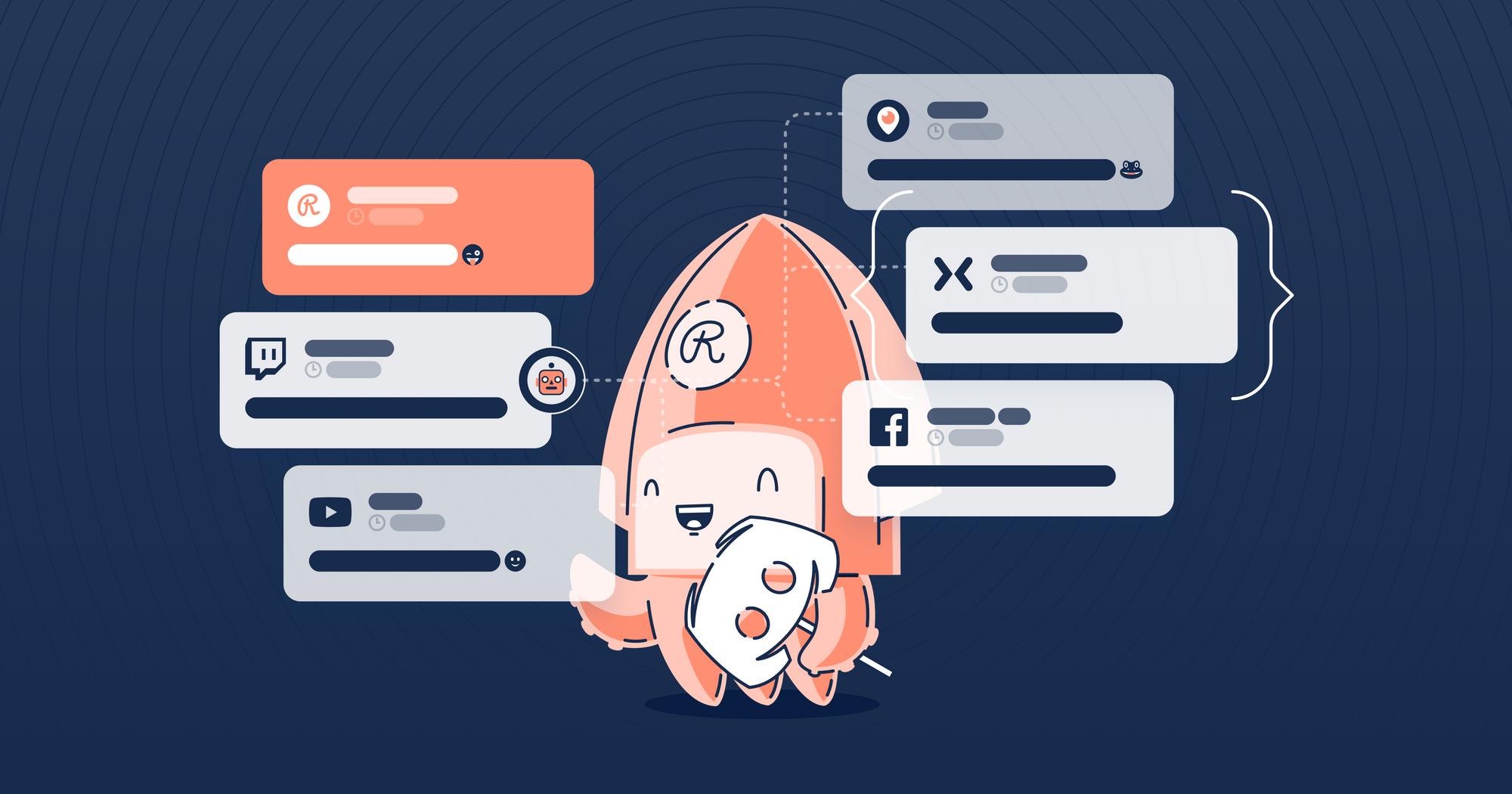 Cross-platform communication with Restream Chat