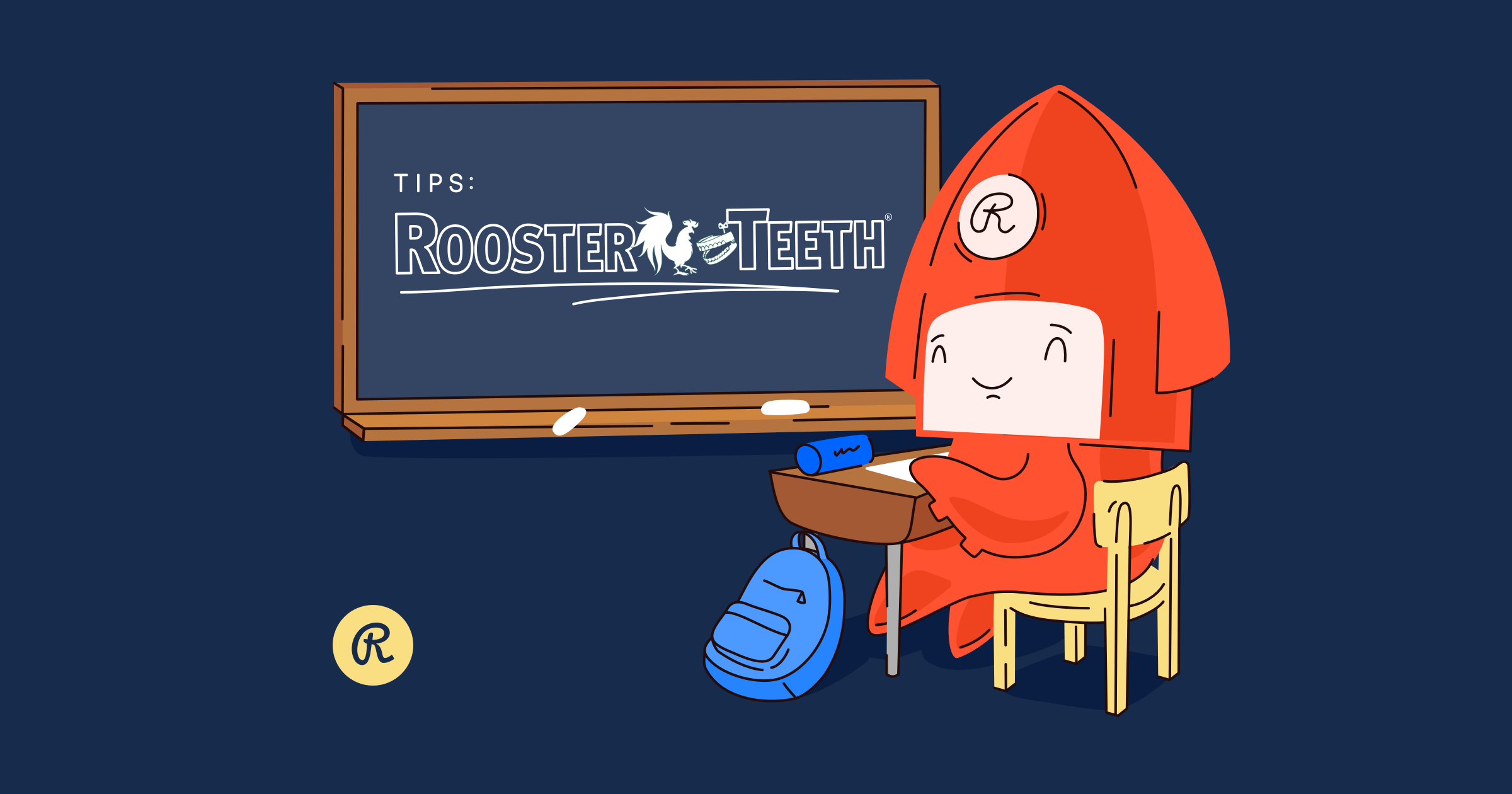 Live streaming tips from Rooster Teeth