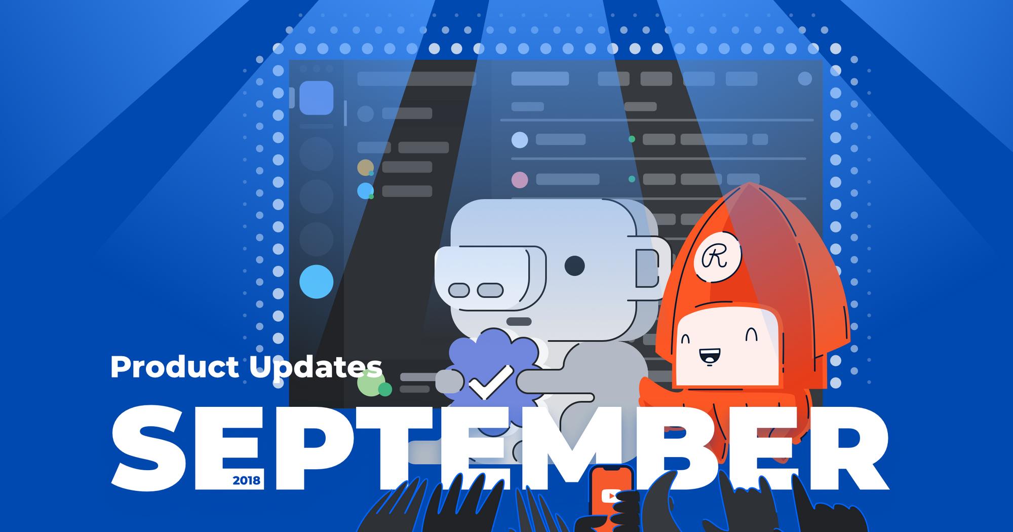 Restream september product updates
