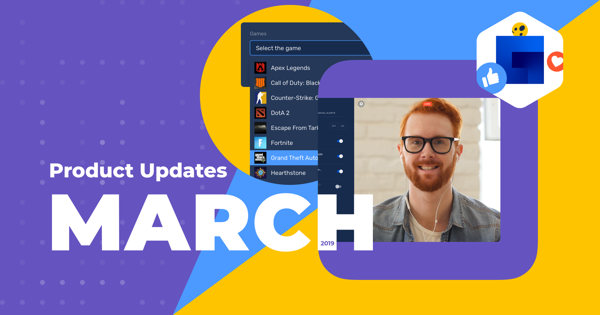 Restream march product updates