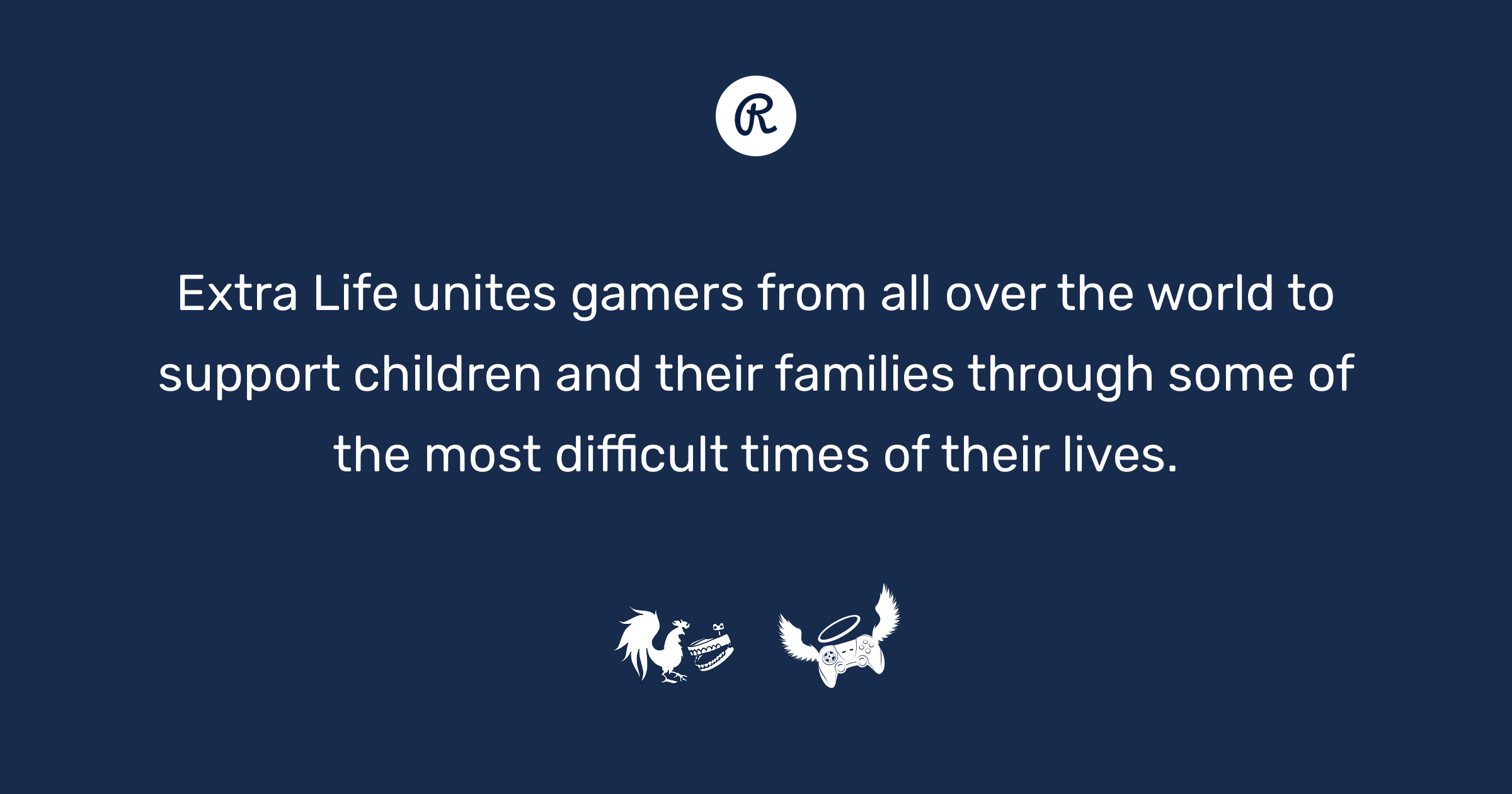 Extra Life unites gamers from all over the world to support children