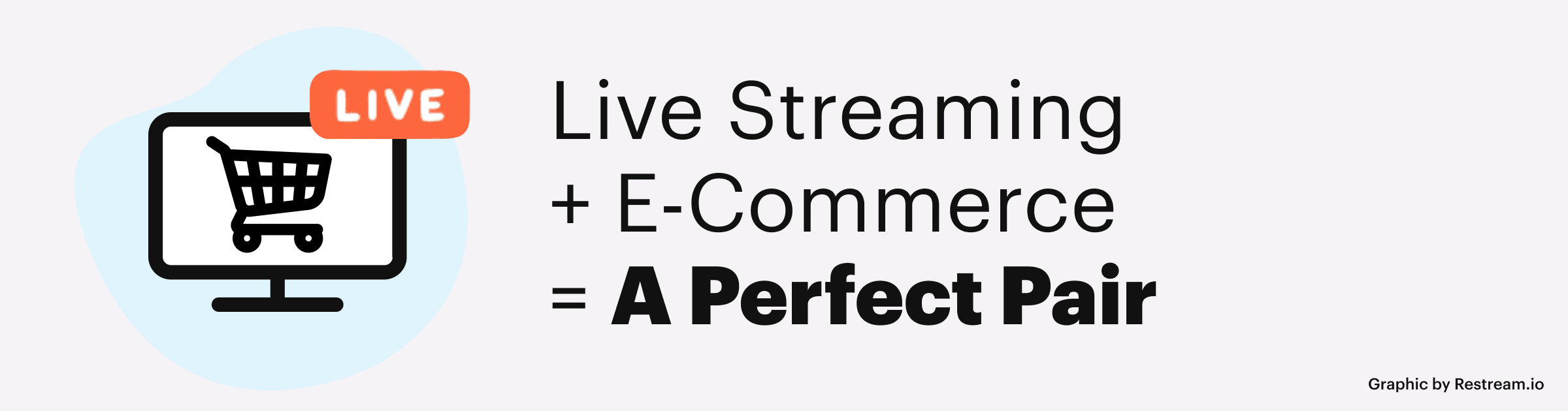 Live Streaming + E-Commerce = A Perfect Pair