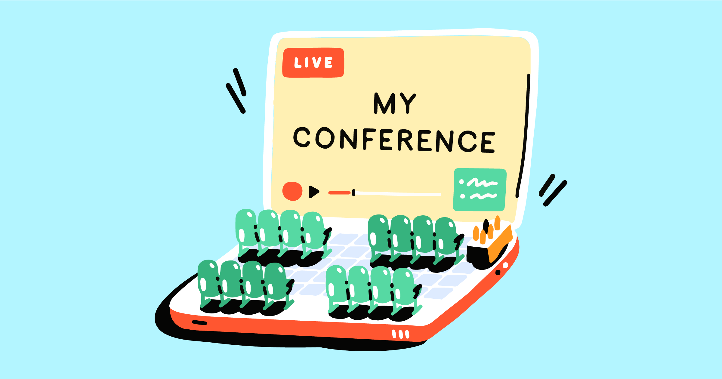 How to live stream a conference