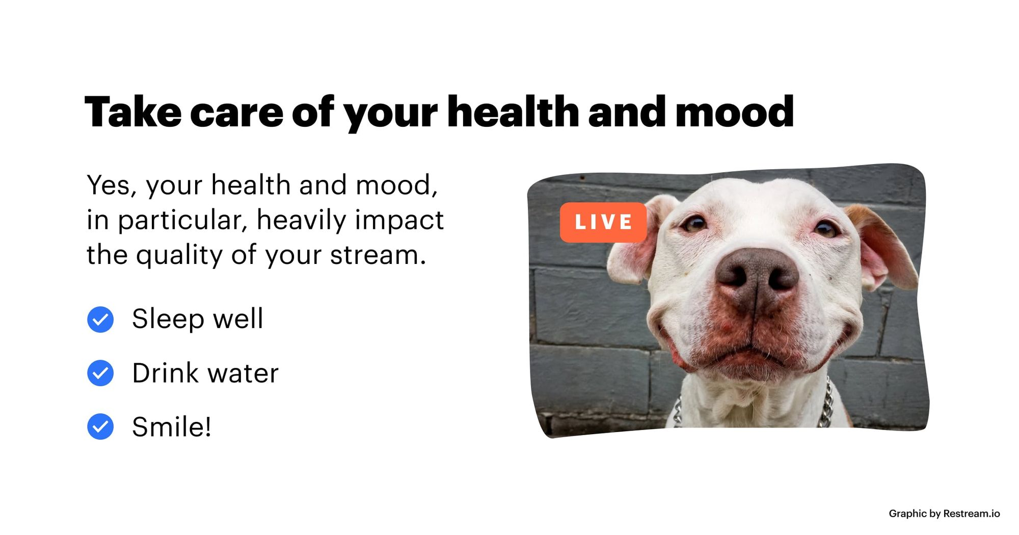 Take care of your health and mood