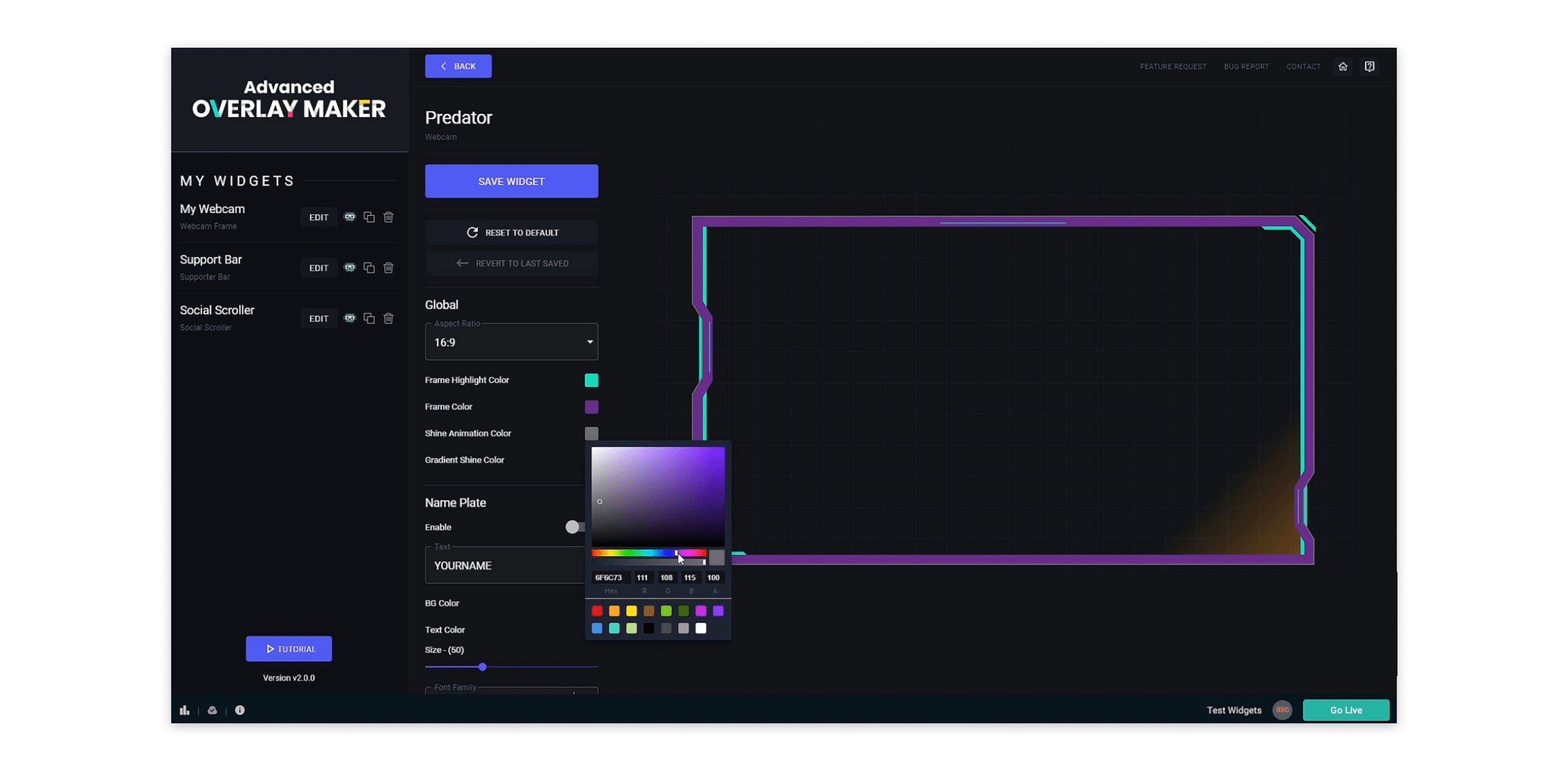 Best live stream overlay makers or how to design your channel