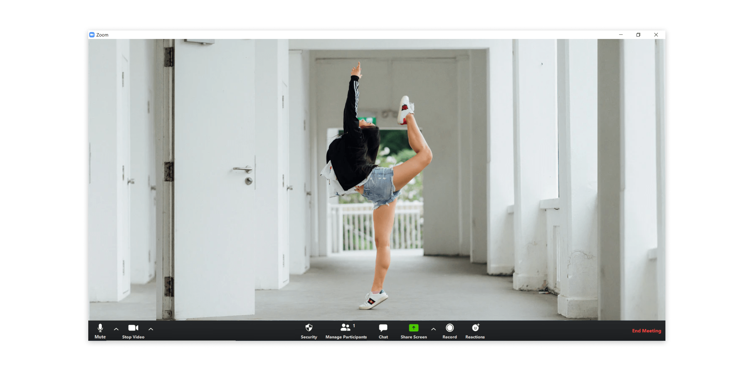 Live streaming dance classes on Zoom