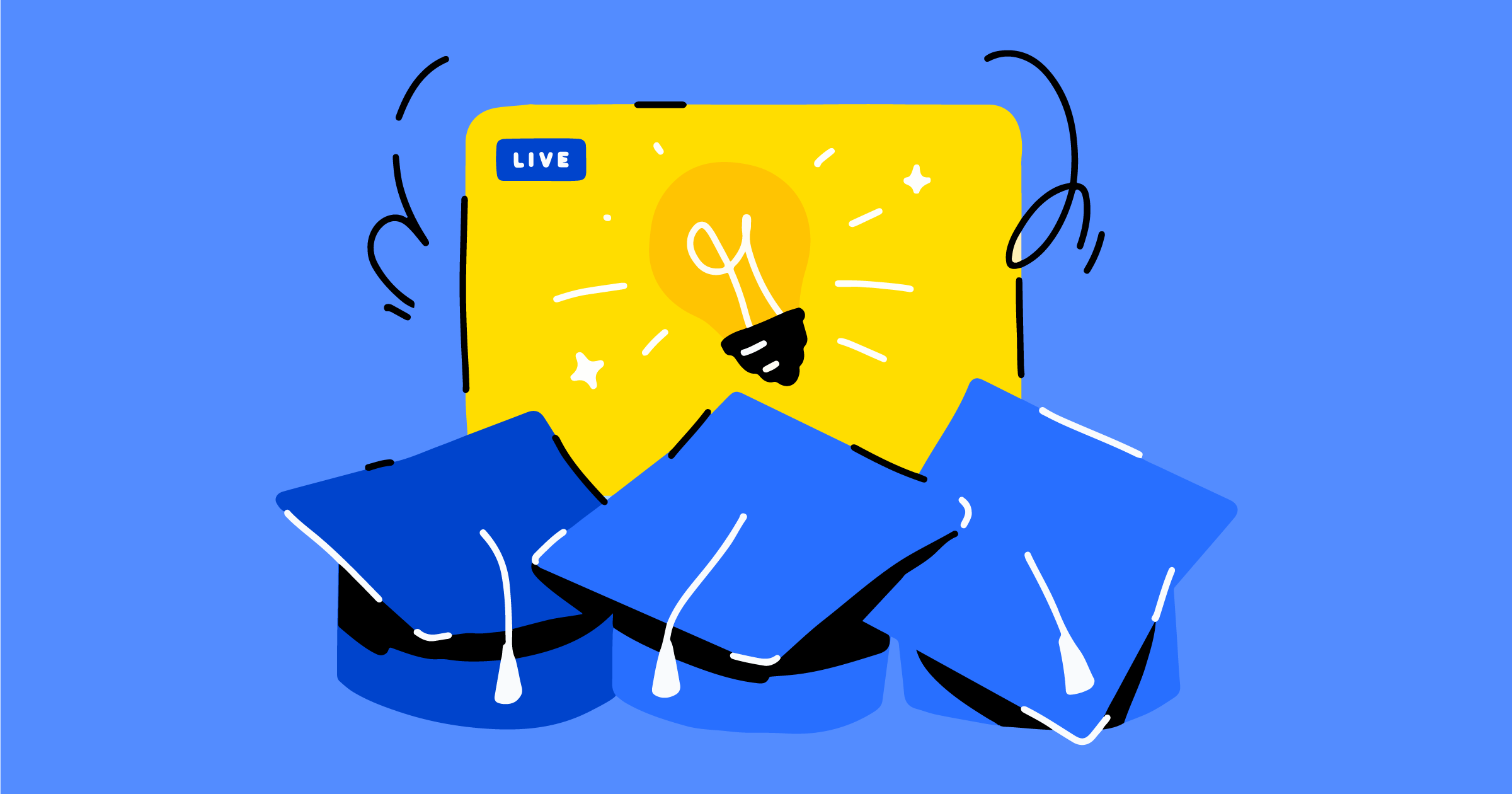 Live streaming for education