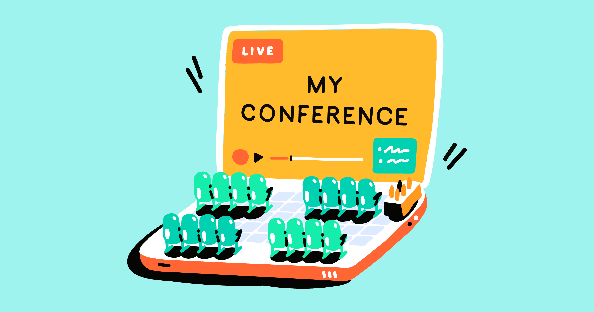 Conference live streaming