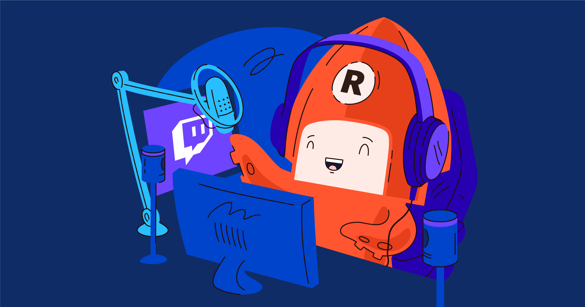Reuse Twitch streams to live stream on other platforms