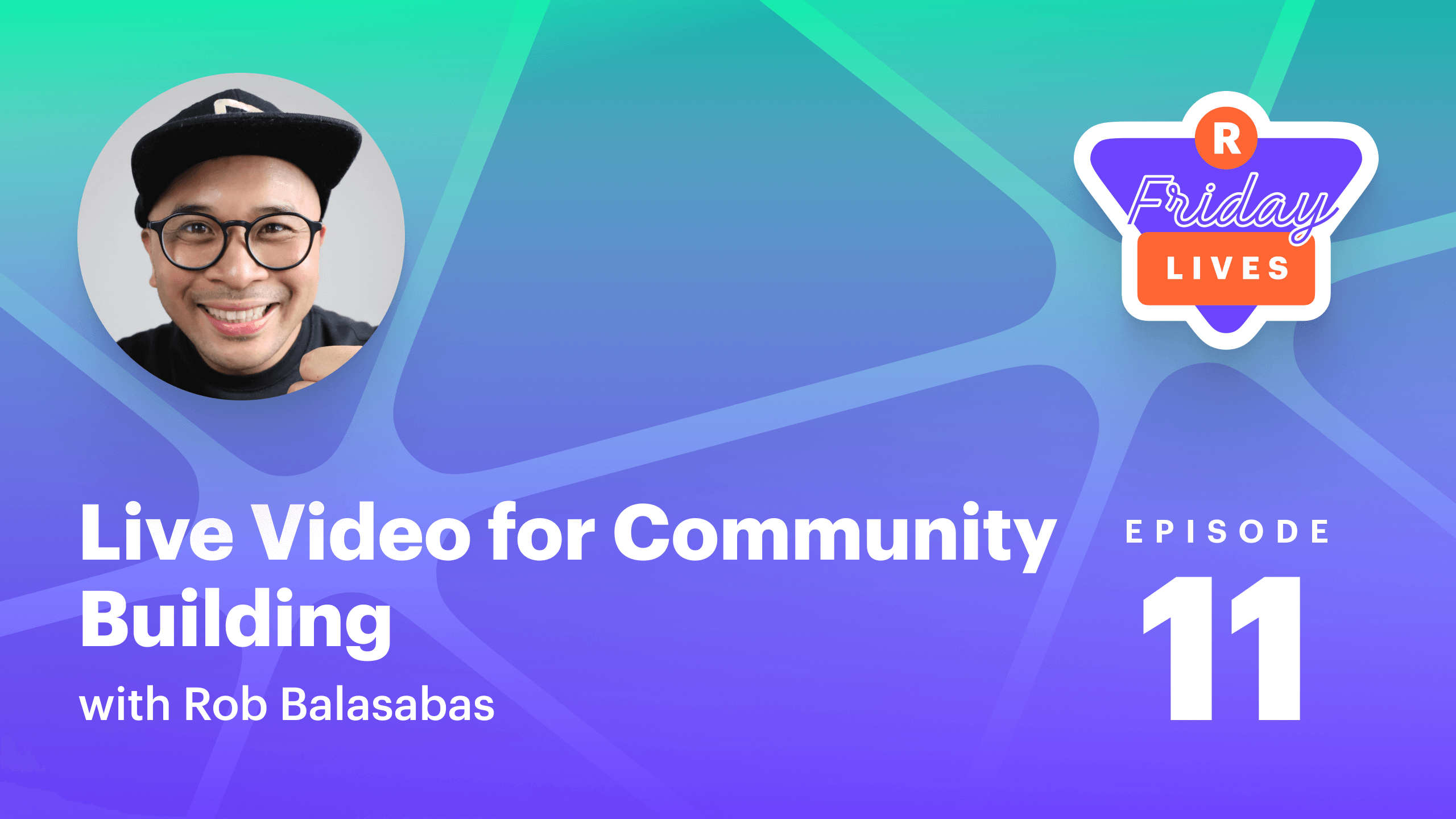 Community building with live streaming
