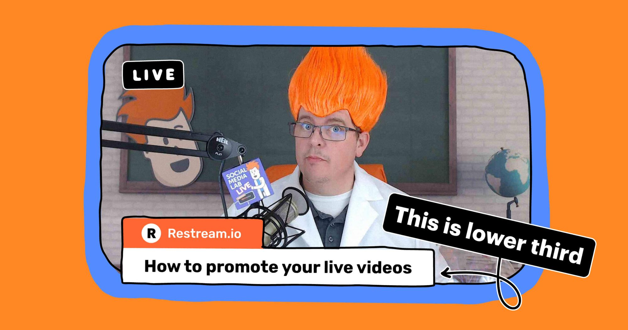 What is lower third and how to use it