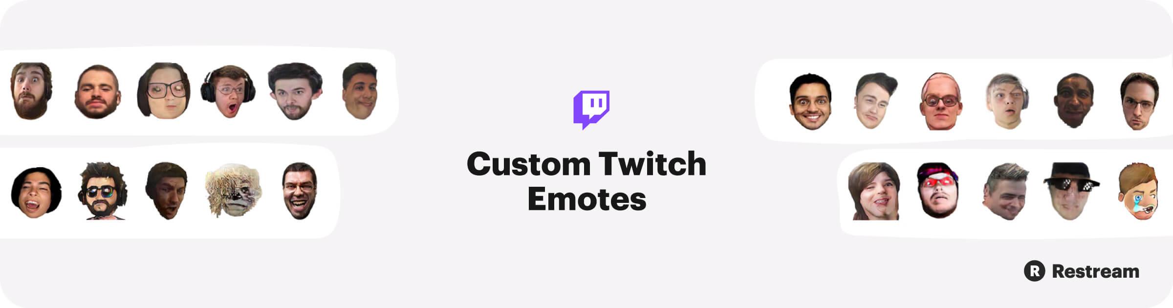 Custom Twitch Emotes