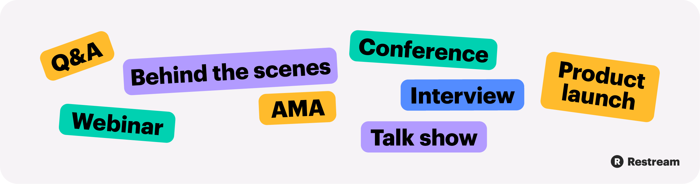 Topics for your live streams