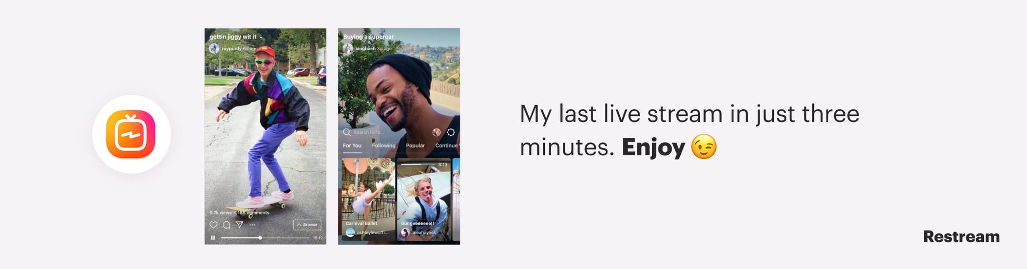 Way to repurpose your content – Instagram teaser