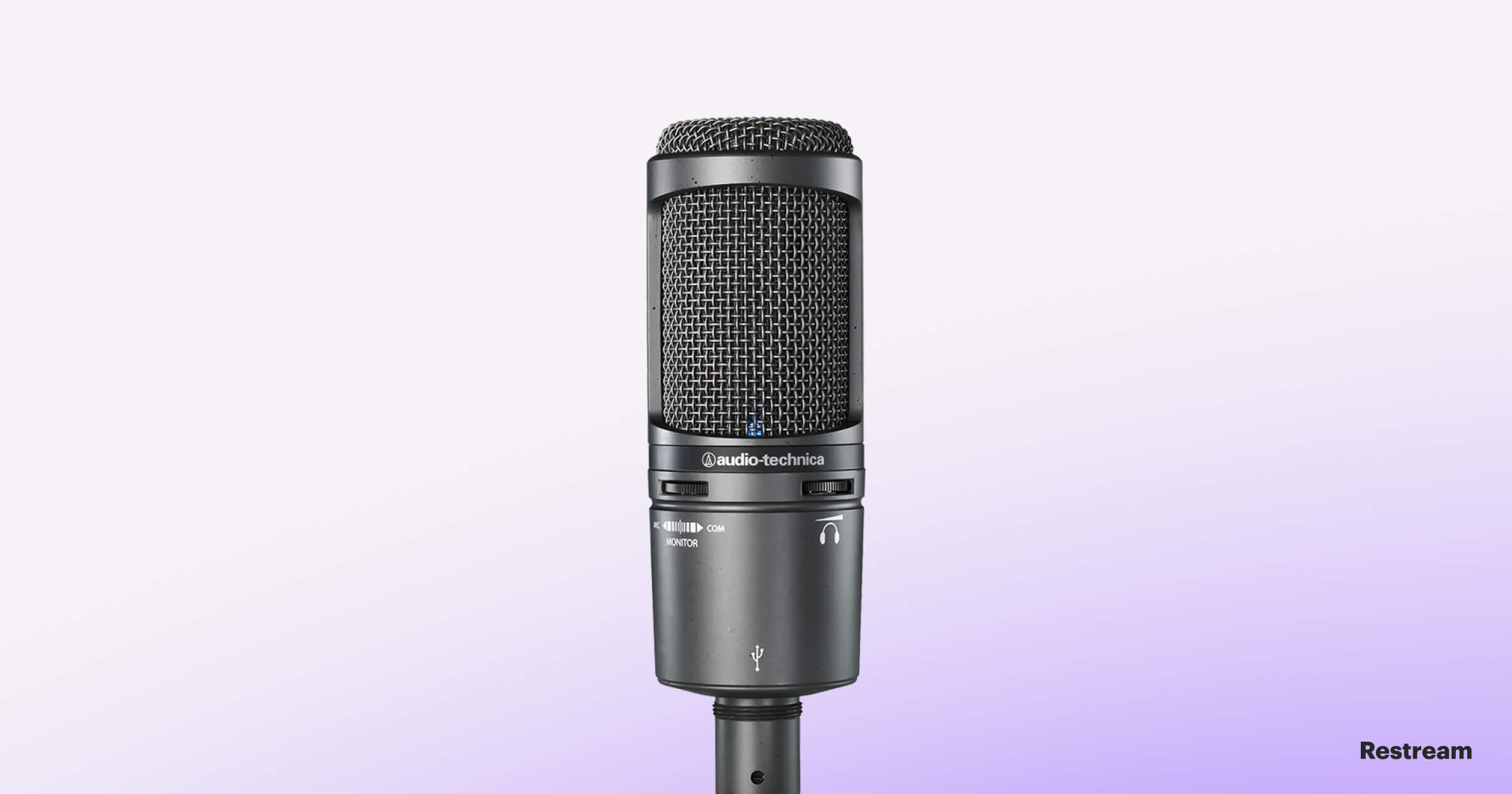 Microphone for streaming — Audio-Technica AT2020+