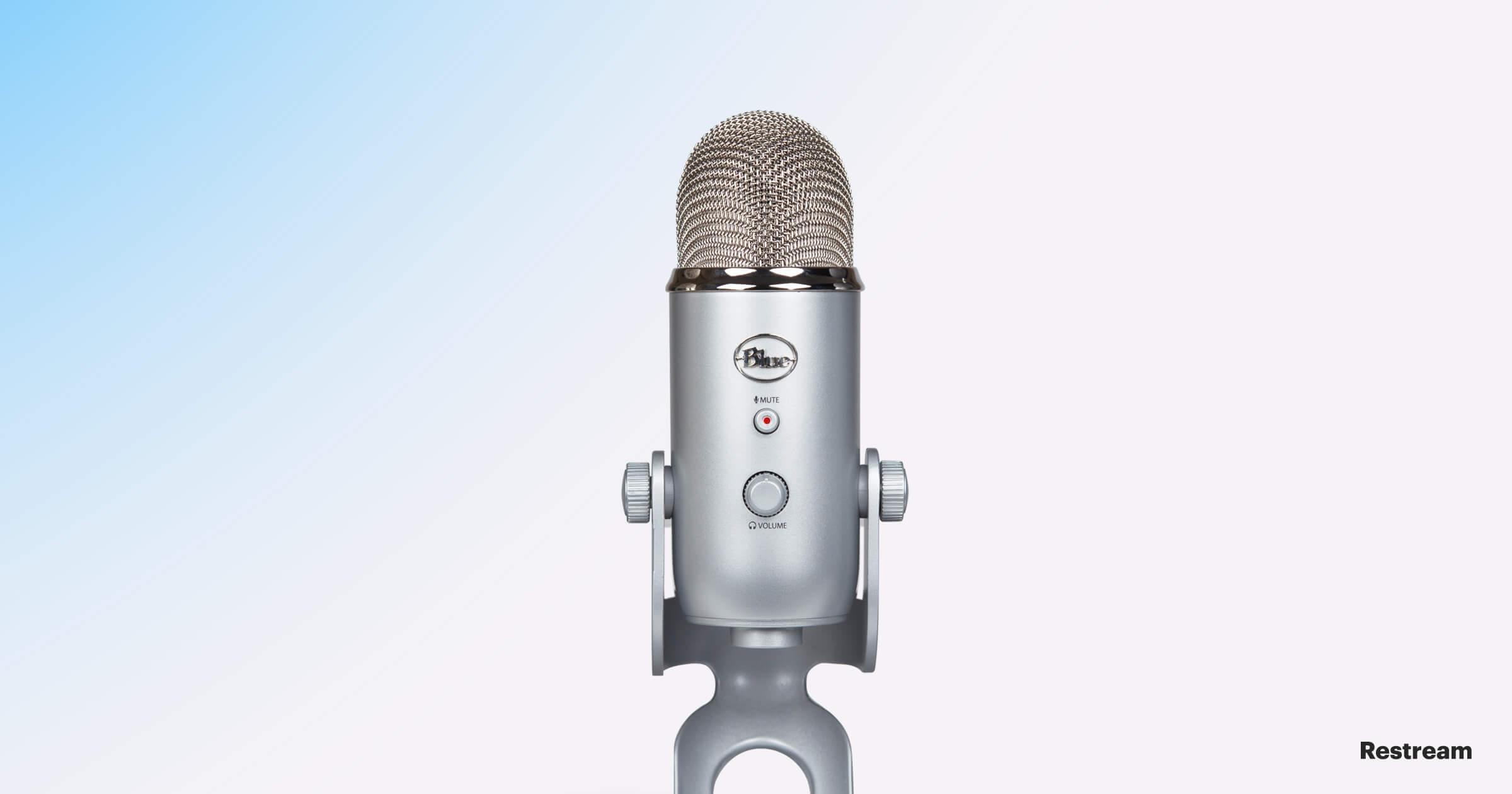 Microphone for streaming — Blue Yeti USB