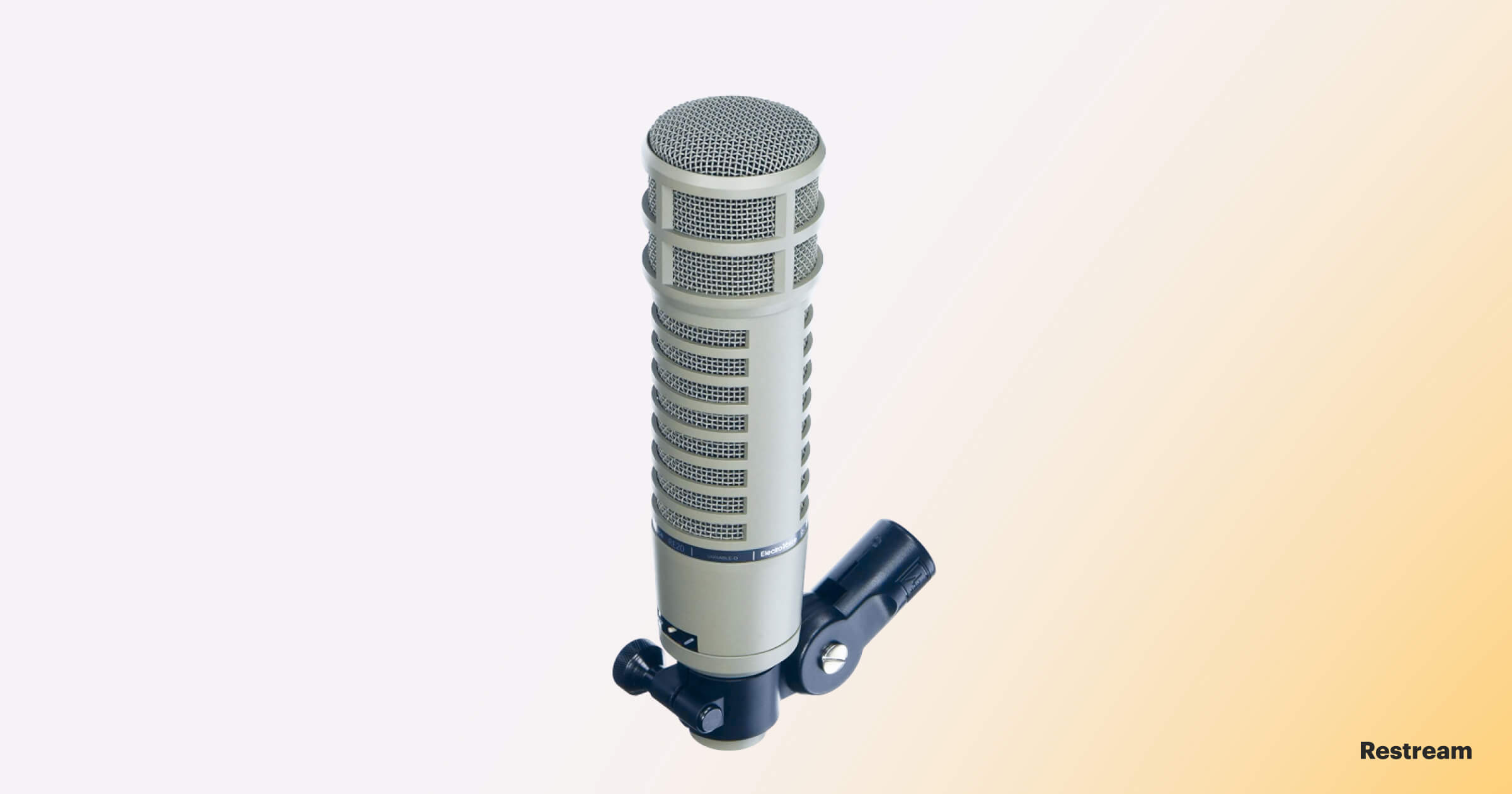 Microphone for streaming — Electro Voice RE-20