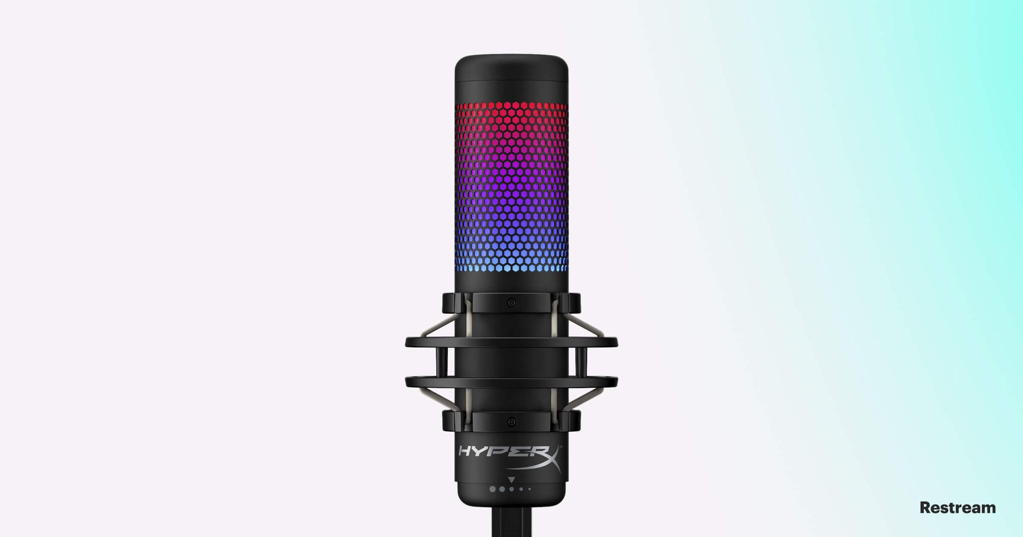 Microphone for streaming — HyperX QuadCast