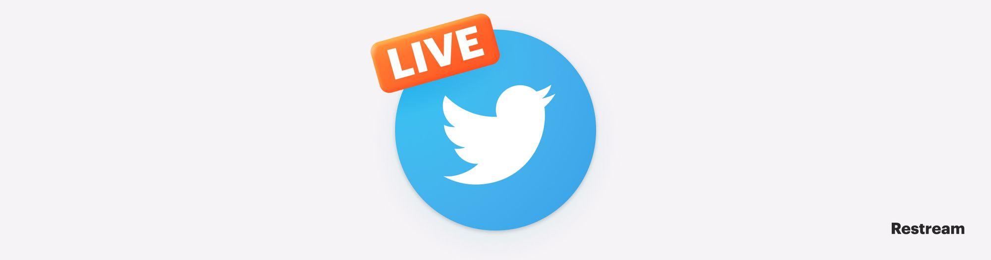 Twitter Live logo