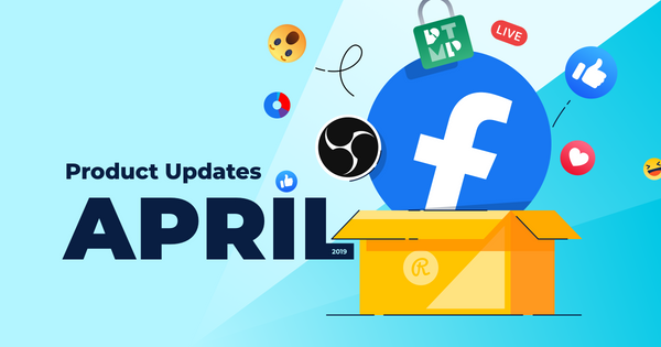April 2019 product updates