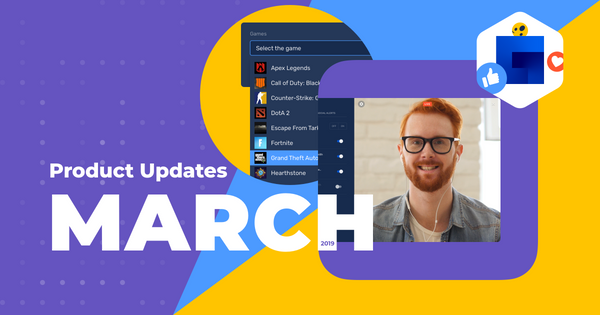 March 2019 product updates