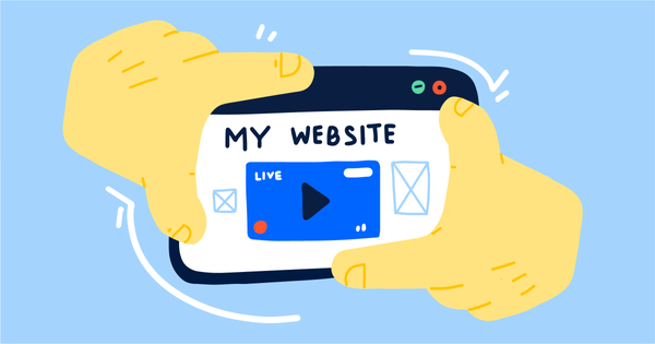 How to live stream to your website